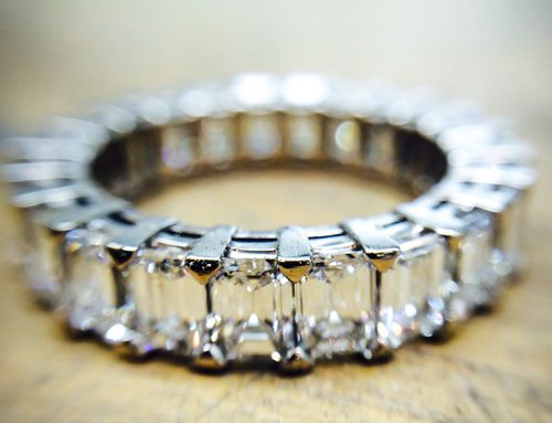 ETERNITY RINGS: Diamond & Platinum
